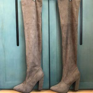 Taupe Steve Madden Ezra Fashion Boots